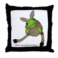 Unadoptables 6 Throw Pillow