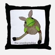 Unadoptables 6 Throw Pillow