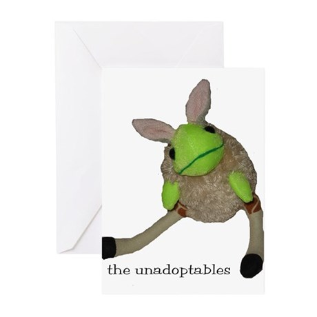 Unadoptables 6 Greeting Cards (Pk of 10)