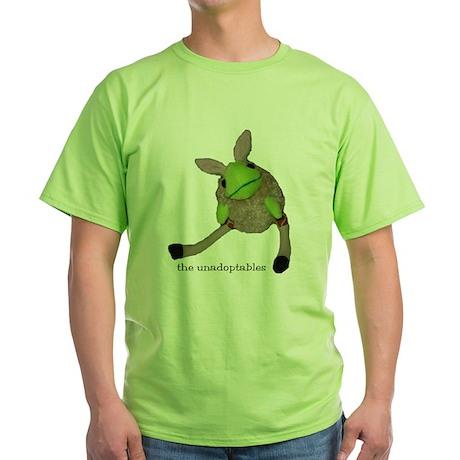 Unadoptables 6 Green T-Shirt