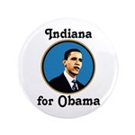 Indiana for Obama Big Campaign Button