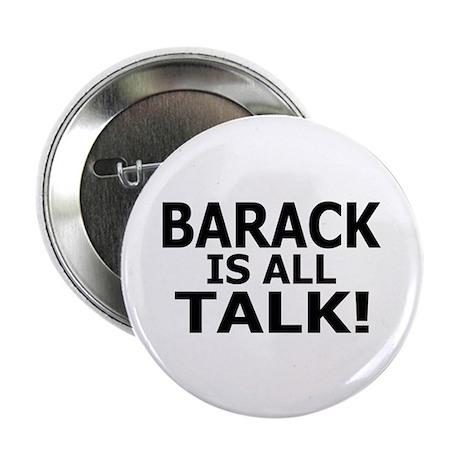 "Barack all Talk 2.25"" Button (100 pack)"