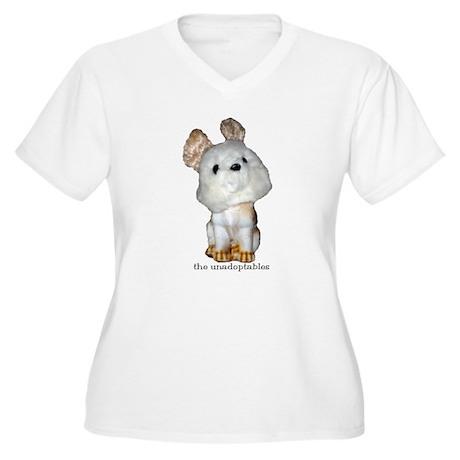 Unadoptables 7 Women's Plus Size V-Neck T-Shirt