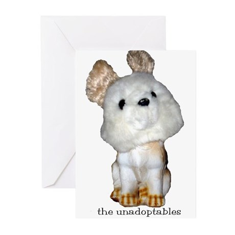 Unadoptables 7 Greeting Cards (Pk of 10)