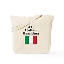 #1 Italian Grandma Tote Bag