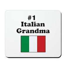 #1 Italian Grandma Mousepad