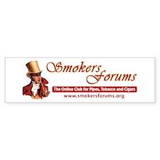 Smokers Forums Bumper Bumper Sticker