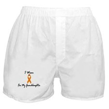 I Wear Orange For My Granddaughter 1 Boxer Shorts