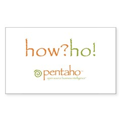How?Ho! Rectangle Decal