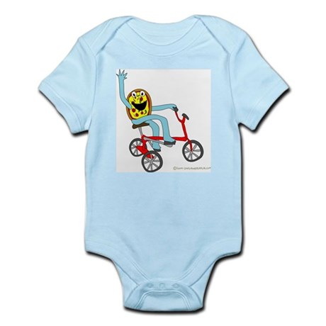 Pizza Pie Tricycle Infant Creeper