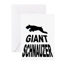 Giant leaps over lettering Greeting Cards (Package