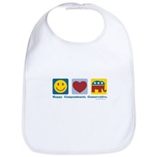 Happy Compassionate Conservative Bib