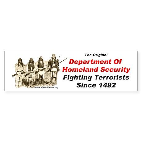 Fighting Terrorists since 1492 Bumper Sticker