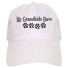 My Grandkids Have Paws Baseball Cap