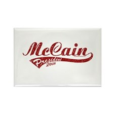 McCain President Sport Logo Rectangle Magnet