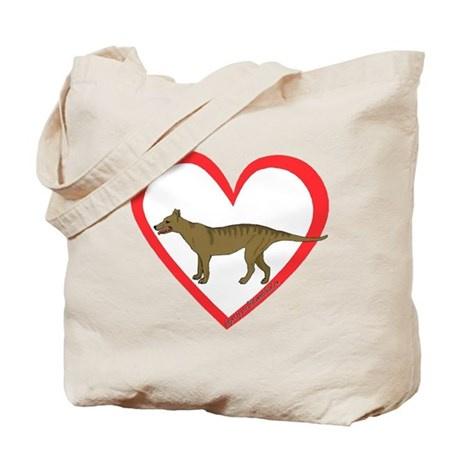 Heart Taz Tote Bag