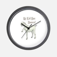 My Kid Has Hooves Wall Clock