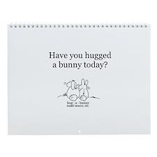 Hug-a-Bunny Wall Calendar