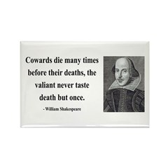 Shakespeare 18 Rectangle Magnet