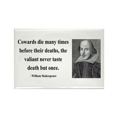 Shakespeare 18 Rectangle Magnet (100 pack)