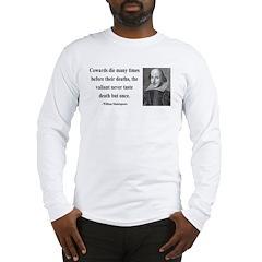 Shakespeare 18 Long Sleeve T-Shirt