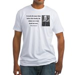 Shakespeare 18 Fitted T-Shirt