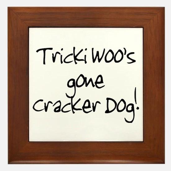 Tricki Woo Framed Tile