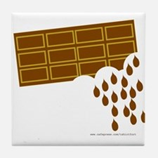 Chocolate Melts Tile Coaster