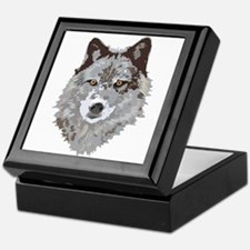 Wolf Head Keepsake Box