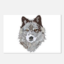 Wolf Head Postcards (Package of 8)