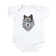 Wolf Head Infant Bodysuit