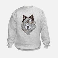 Wolf Head Sweatshirt