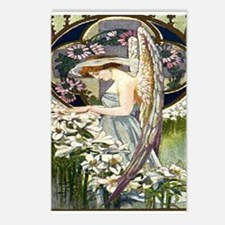 Angels and Lillies Postcards (Package of 8)