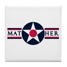 Mather Air Force Base Tile Coaster