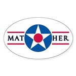 Mather Air Force Base Oval Sticker