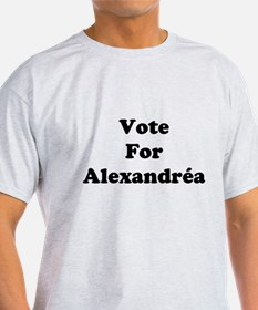 Vote For Alexandrea T-Shirt