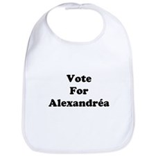 Vote For Alexandrea Bib
