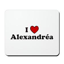 I Heart Alexandrea Mousepad