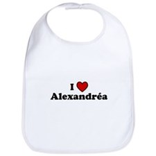 I Heart Alexandrea Bib