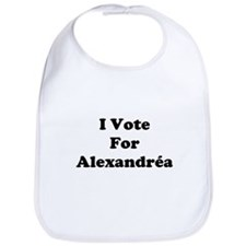 I Vote For Alexandrea Bib