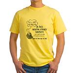 Dr. Ron's v2 Yellow T-Shirt