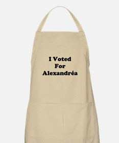 I Voted For Alexandria BBQ Apron