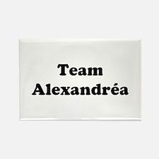 Team Alexandrea Rectangle Magnet