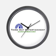 Third Day Entertainment TV Wall Clock