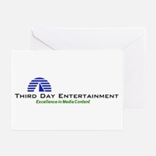 Third Day Entertainment TV Greeting Cards (Package