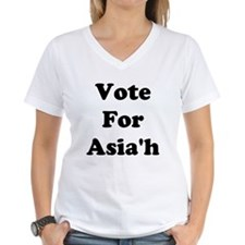 Vote For Asia'h Shirt