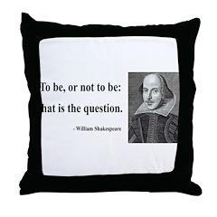 Shakespeare 20 Throw Pillow