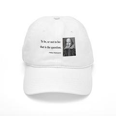 Shakespeare 20 Baseball Cap