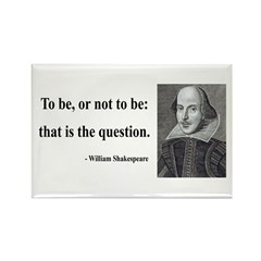 Shakespeare 20 Rectangle Magnet