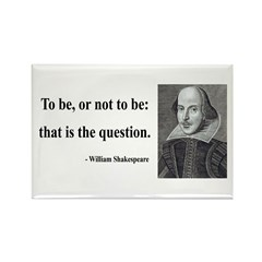 Shakespeare 20 Rectangle Magnet (100 pack)